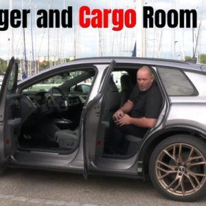 Audi Q4 e-tron rear passenger and cargo room
