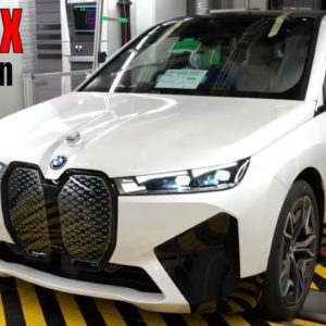 BMW iX Electric Production at Plant Dingolfing Germany