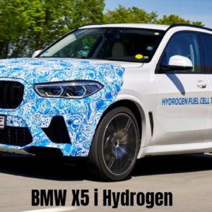 BMW X5 i Hydrogen NEXT Begins Testing