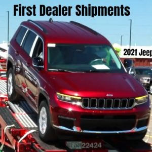 First Dealer Shipments of the 2021 Jeep Grand Cherokee L