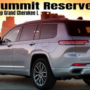 New 2021 Jeep Grand Cherokee L Summit Reserve