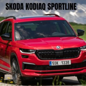 New 2021 SKODA KODIAQ SPORTLINE