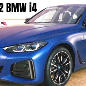 New 2022 BMW i4 eDrive40 and i4 M50