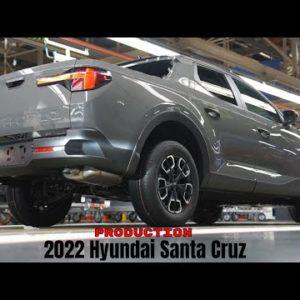 New 2022 Hyundai Santa Cruz Production in Alabama USA