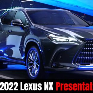 New 2022 Lexus NX Presentation