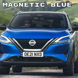 New 2022 Nissan Qashqai Tekna in Magnetic Blue