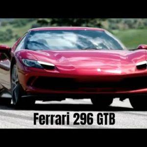 New Ferrari 296 GTB Plug-In Hybrid V6 Revealed
