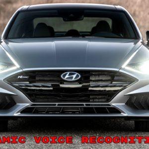 New Hyundai Sonata Dynamic Voice Recognition Demo