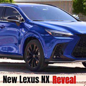 New Lexus NX Reveal For 2022 Model