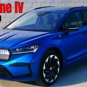 Skoda Enyaq Sportline iV in Race Blue