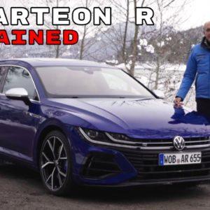 VW Arteon R and Shooting Brake Explained   Volkswagen