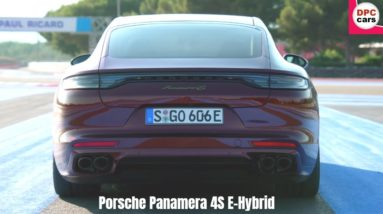 2021 Porsche Panamera 4S E Hybrid in Cherry Metallic