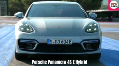 2021 Porsche Panamera 4S E Hybrid in GT Silver Metallic