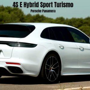 2021 Porsche Panamera 4S E Hybrid Sport Turismo in Carrara White
