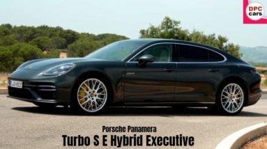 2021 Porsche Panamera Turbo S E Hybrid Executive In Volcano Grey
