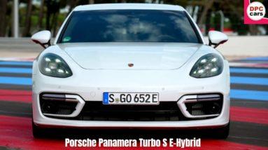 2021 Porsche Panamera Turbo S E-Hybrid in Carrera White