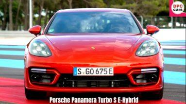 2021 Porsche Panamera Turbo S E Hybrid in Papaya Metallic