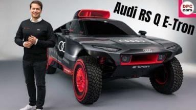 2022 Audi RS Q E-Tron Development