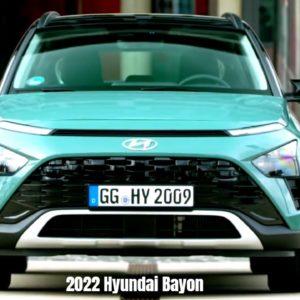 2022 Hyundai Bayon Stylish and Sleek Crossover SUV