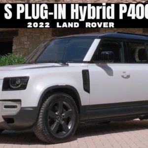 2022 Land Rover 110 S PLUG-IN Hybrid P400E in White