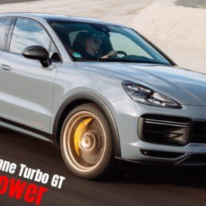 2022 Porsche Cayenne Turbo GT Brutal Power