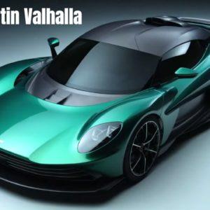 Aston Martin Valhalla in Detail
