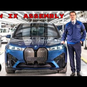 BMW iX Electric SUV Assembly and Production in Germany