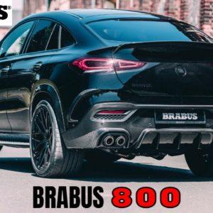 Brabus 800 based on Mercedes AMG GLE 63S Coupe
