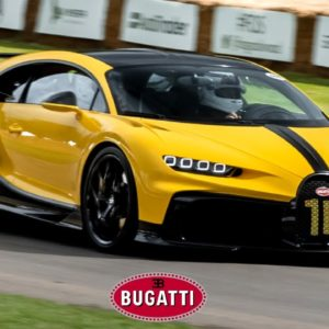 Bugatti Chiron Pur Sport Goodwood Festival of Speed Hill Climb
