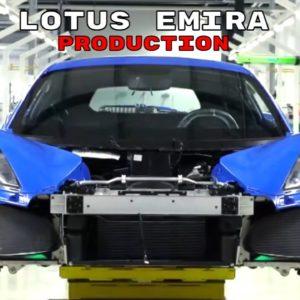 Lotus Emira Production Factory
