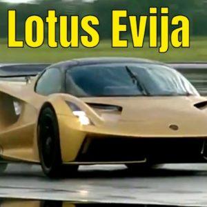 Lotus Evija Electric Hypercar at Emira Reveal