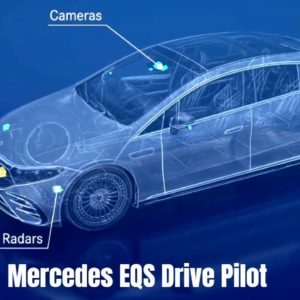 Mercedes EQS Electric S-Class Automated Drive Pilot