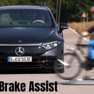 Mercedes EQS Electric S Class Driving Assistance Package Plus