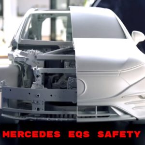 Mercedes EQS Electric S Class Safety Structure