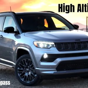 New 2022 Jeep Compass High Altitude
