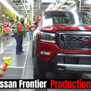 New 2022 Nissan Frontier Begins Production in USA