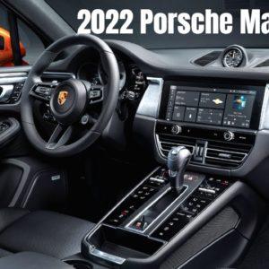 New 2022 Porsche Macan Interior
