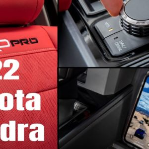 New 2022 Toyota Tundra Interior and Exterior Teaser Footage