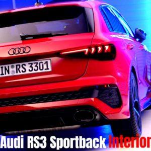 New Audi RS3 Sportback 2022 Interior