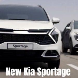 New Kia Sportage 2022 Development