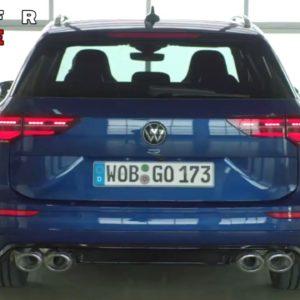 VW Golf R Estate Wagon 2022 Volkswagen Model in Detail