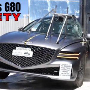 2021 Genesis G80 Safety Testing