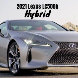 2021 Lexus LC500h Hybrid
