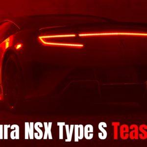 2022 Acura NSX Type S Teaser