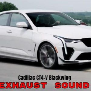 2022 Cadillac CT4-V Blackwing Exhaust Sound