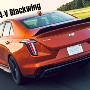 2022 Cadillac CT4-V Blackwing Exhaust Sound at the Track