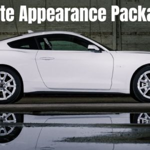 2022 Ford Mustang Coupe Ice White Appearance Package