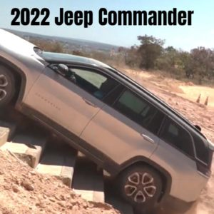 2022 Jeep Commander Off Roading