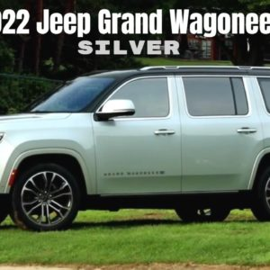 2022 Jeep Grand Wagoneer in Silver