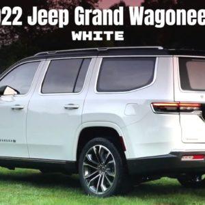 2022 Jeep Grand Wagoneer in White